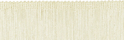 "Oyster - Chainette Fringe Trim 2""X4ft"