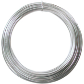 Silver - Aluminum Wire 12 Gauge 39' Coil