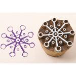 Little Snowflake - Blockwallah Block Stamp