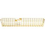 Medium Gold - Wire System Metal Storage Bin