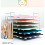 Desktop Storage Paper Rack
