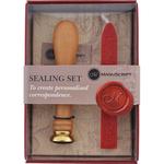 Fleur De Lys - Long Handled Design Sealing Set