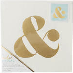 "Ampersand Symbol - Color Reveal Watercolor Panel 10""X10"""