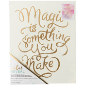 """Magic Is Something - Color Reveal Watercolor Panel 8""""X10"""""""