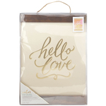 "Hello Love - Color Reveal Hanging Print 11""X15"""