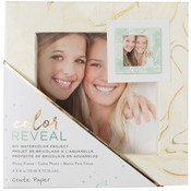 """Marble - Color Reveal Watercolor Frame 4""""X4"""""""