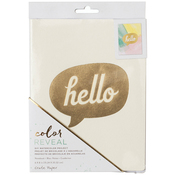 "Hello - Color Reveal Watercolor Notebook 6""X8"""