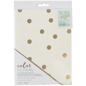 "Dots - Color Reveal Watercolor Notebook 6""X8"""