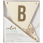 Best Day Ever - Color Reveal Watercolor Kit Banner 18/Pcs