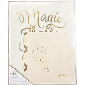 Adult Magic Is Something You Make - Color Reveal Watercolor Prints 4/Pkg