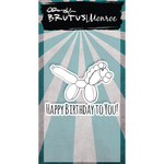 Happy Birthday To You - Brutus Monroe Clear Stamps 2X3