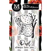 Owl Love You - Brutus Monroe Clear Stamps 3X4