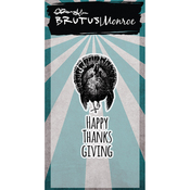 Happy Thanksgiving - Brutus Monroe Clear Stamps 2X3