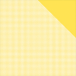 """Sunflower Yellow Check/Yellow Solid - Authentique Micro Basics Double-Sided Cardstock 12""""X12"""""""
