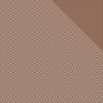"Chocolate Brown W/White Dots/Brown Solid - Authentique Micro Basics Double-Sided Cardstock 12""X12"""