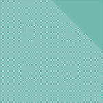 "Light Teal W/White Dots/Teal Solid - Authentique Micro Basics Double-Sided Cardstock 12""X12"""