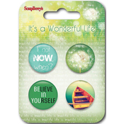 #2 - ScrapBerry's It's A Wonderful Life  Button Embellishments