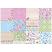 "ScrapBerry's A Furry Little Story Paper Pack 12""X12"" 6/Pkg"