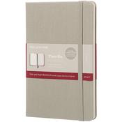 Moleskine Two-Go Ruled Notebook - Ash Grey