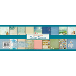 """9 Double-Sided Designs/1 Each - ScrapBerry's Holiday Romance Paper Pack 12""""X12"""" 9/Pkg"""