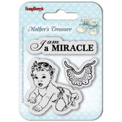 "Miracle - ScrapBerry's Mother's Treasure Clear Stamps 2.7""X2.7"""