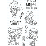 """Snow Wonderful - Your Next Stamp Clear Stamps 4""""X6"""""""