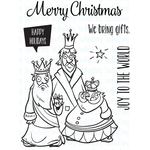 "Very Merry Wise Men - Your Next Stamp Clear Stamps 3""X4"""