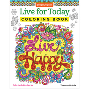 Live For Today Coloring Book - Design Originals