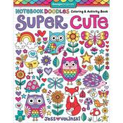Notebook Doodles Super Cute Coloring - Design Originals