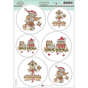 "A Christmas Tale - Daisy Mae Draws Topper Sheet 8.5""X12.2"""