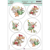 "Oh Christmas Tree - Daisy Mae Draws Topper Sheet 8.5""X12.2"""
