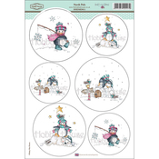 "North Pole - Daisy Mae Draws Topper Sheet 8.5""X12.2"""