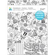 "Doodle Dream Color Your Own, 16 Designs - Momenta Paper Pack 8.5""X11"" 48/Pkg"