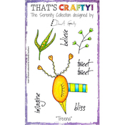 "Treena - That's Crafty Clear Stamp 4""X6"""