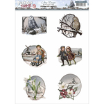 Wintertide - Find It Trading Amy Design Topper Sheet