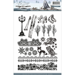 Wintertide - Find It Trading Amy Design Clear Stamp 24/Pkg