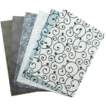Embellished Christmas - Be Merry And Classic A4 Specialty Paper 6/Pkg