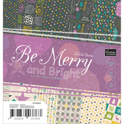 "Be Merry And Bright Paper Pad 6""X6"" 24/Pkg"