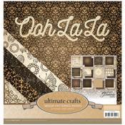 """Ooh La La - Ultimate Crafts Paper Pad 12""""X12"""""""
