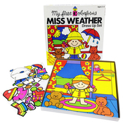 Colorforms(R) Classic Miss Weather Re-Stickable Sticker Set
