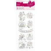 Happy Birthday - Papermania Glitter Colour In Stickers
