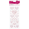 Love Hearts - Papermania Glitter Dot Stickers