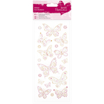 Butterflies - Papermania Glitter Dot Stickers