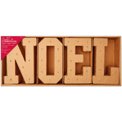 Noel - Papermania Create Christmas Light Up Letters