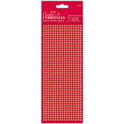 Gold - Papermania Create Christmas Adhesive Stones 1530/Pkg