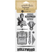 #3 - Graphic 45 Vintage Hollywood Stamps - Graphic 45