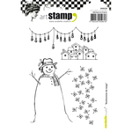 Snowman - Carabelle Studio Cling Stamp A6