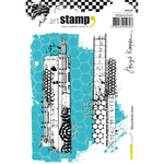 Mixed Media Strips - Carabelle Studio Cling Stamp A6