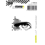 "Make Up Eye Of Stars - Carabelle Studio Cling Stamp 2.75""X3.75"""