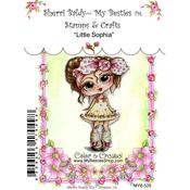 """Little Sophia - My Besties Clear Stamps 4""""X6"""""""
